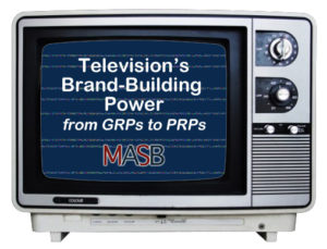 Television's Brand Building Power