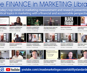 Marketing classes canceled? The FINANCE in MARKETING Library is open!